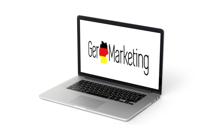 germarketing laptop